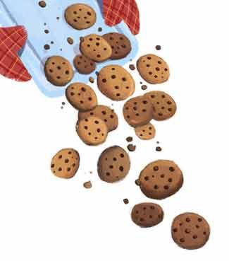 Cookies in de vorm van koekjes