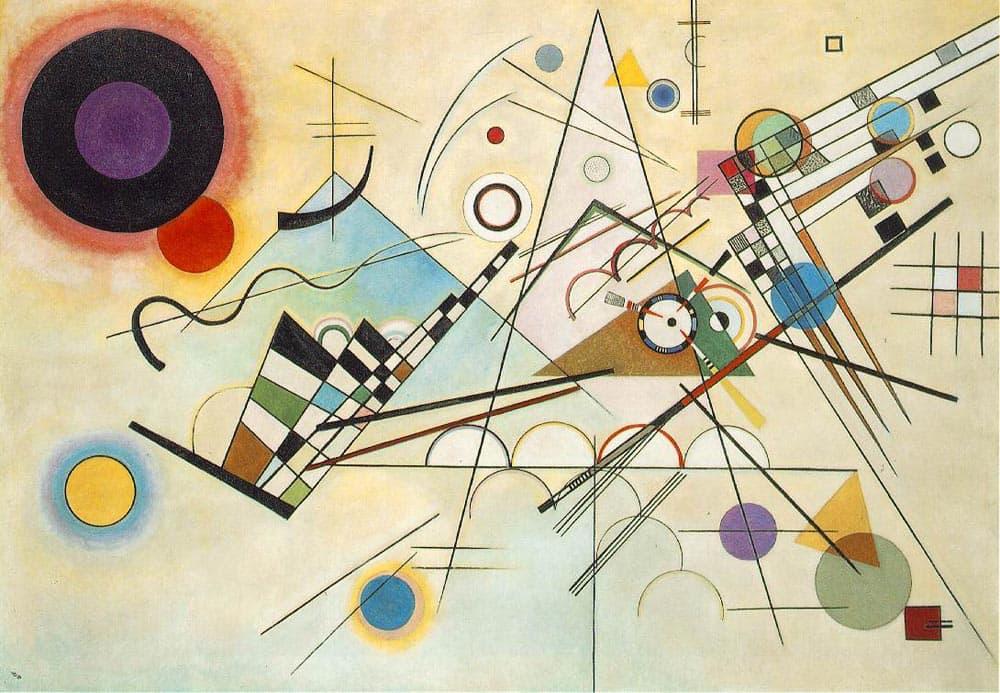 Kandisnky 50 behoort niet tot de goedkope schilderijen