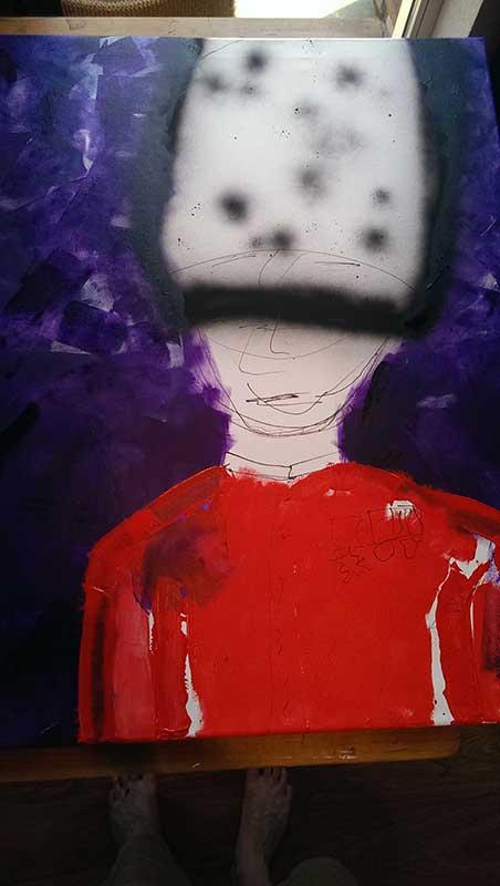 Schilderij Wachter 2