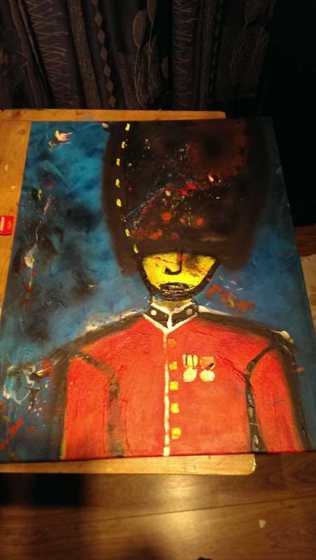 Schilderij Wachter 5