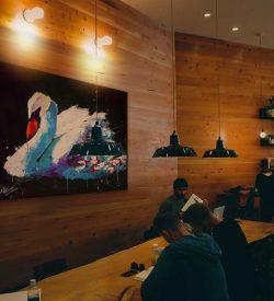 Dierenschilderij Zwaan interieur 4