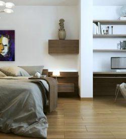 Modern schilderij Geen gezicht interieur-3