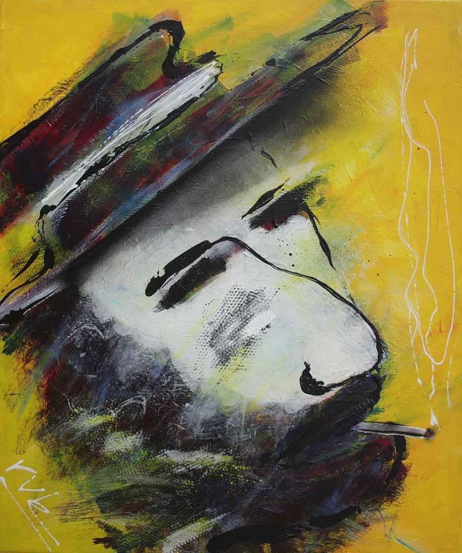 Modern schilderij: KoiBoi