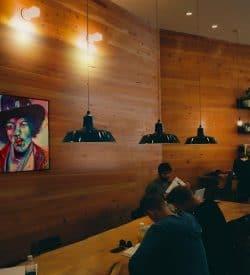 Schilderij Jimi Hendrix interieur1