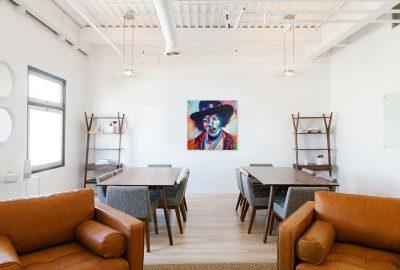Schilderij Jimi Hendrix interieur2