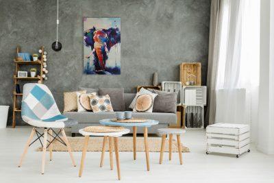 Dierenschilderij Olifant 3 interieur 1